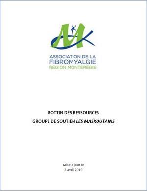 Bottin de ressources Les Maskoutains
