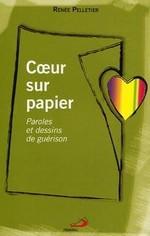 Coeur sur papier