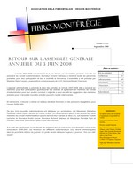 Fibro-Montérégie, v.4 no 1, sept. 2008